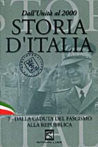 Storia d'Italia. 7 - Dalla caduta del…
