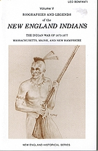 Biographies and Legends of the New England…