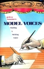Model Voices: Finding a Writing Voice by…