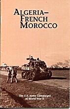 Algeria-French Morocco -- US Army Campaigns…
