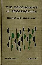 The psychology of adolescence by John Edwin…