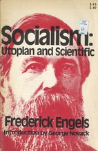 Socialism: Utopian and Scientific by…