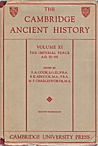The Cambridge Ancient History: Volume 11,…