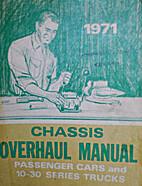 1971 Chassis Overhaul Manual (Passenger Cars…