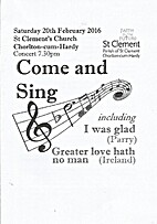 Come and Sing Concert by Sue Hilton