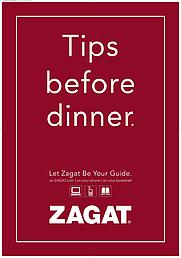 Author photo. Zagat Ad - Tips