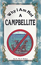 Why I Am Not a Campbellite
