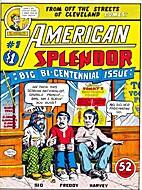 American Splendor [series] by Harvey Pekar