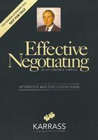 Effective Negotiating: Workbook and…