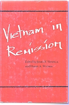 Vietnam in Remission by James F. Veninga