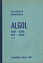 ALGOL by Chr. Andersen