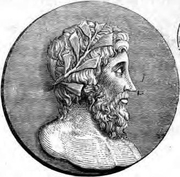 Author photo. Image from <b><i>Sixteen select idyls of Theocritus</i></b> (1839) edited by D. B. Hickie