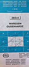 Waregem - Oudenaarde : Topografische kaart…