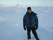Author photo. At Resolute Bay, Nunavut