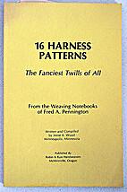 16 Harness Patterns: The Fanciest Twills of…