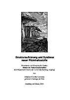 Strukturaufklärung und Synthese neuer…