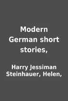 Modern German short stories, by Harry…