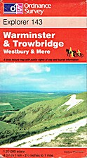Explorer Map 143: Warminster & Trowbridge by…