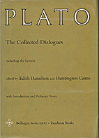 The Collected Dialogues of Plato, Including…