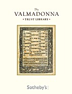 The Valmadonna Trust Library by Sotheby's
