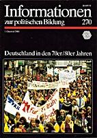 Informationen zur politischen Bildung 270:…