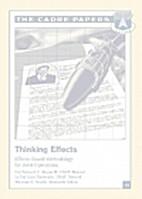 Thinking effects : effects-based methodology…