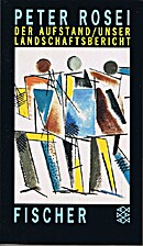 Der Aufstand (German Edition) by Peter Rosei
