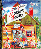 The Little Golden Mother Goose by Feodor…