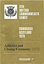 Athletics and Closing Ceremony Programme by…