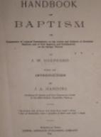 Handbook on Baptism by J. W. Shepherd