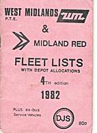 West Midlands P.T.E. & Midland Red Fleet…