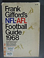 NFL-AFL football guide 1968 by Frank Gifford