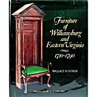 Furniture of Williamsburg and Eastern…