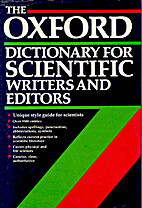 The Oxford Dictionary for Scientific Writers…