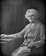 Author photo. Caroline A. F. Rhys Davids, 1934.