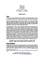 Notes on Joshua by Thomas L. Constable