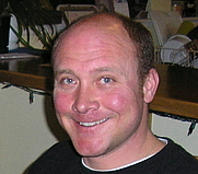 Author photo. Jason Matthews at home in Truckee, California.