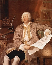 Author photo. François Boucher, 1740