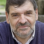 Author photo. Bieito Iglesias. Photo by Santos-Díez (Ollo de Vidro-ACAB).