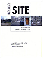 Out of site : art negotiating neglected…