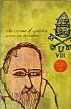 The Crime of Galileo by Giorgio De…