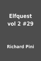 Elfquest vol 2 #29 by Richard Pini