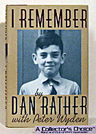 I Remember by Dan Rather