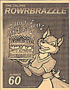 Rowrbrazzle 60 by Fred Patten