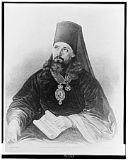 """Author photo. Innokentii, Metropolitan of Moscow, called the """"Apostle of Alaska"""". (Library of Congress Prints and Photographs Division LC-USZ62-132144)"""