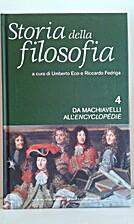 Storia della filosofia - Da Machiavelli…