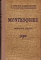 Morceaux choisis by Charles Louis de…