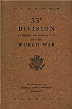 33d division, summary of operations in the…