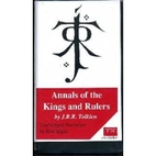 Annals of the Kings and Rulers by J. R. R.…