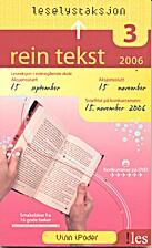 Rein tekst (.txt) 2006 by Vibeke…
